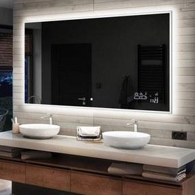 Espelho para Banheiro com Iluminação LED L49  x=40 x   y=40 cm
