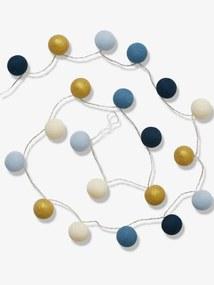 Grinalda luminosa azul medio bicolor/multicolor
