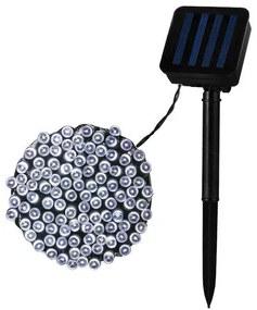 Grinalda de Luzes LED Ledkia Solar 22 m A++ 0,5 W (Branco Quente 3000K - 3500K)