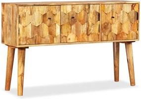 Aparador em madeira de mangueira maciça 118x35x75 cm
