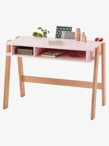 Secretária especial primária, tema Architekt rosa claro liso