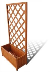 Plantador de treliças 70 x 30 x 135 cm