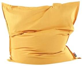 Puff almofada XXL 180 x 230 cm amarelo