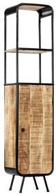 247857 vidaXL Armário alto 40x30x180 cm madeira de mangueira áspera maciça