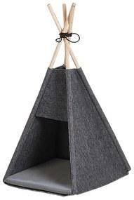Cama para animal de estimação em 35 x 40 cm cinzento escuro ULUBEY