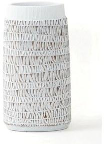 Vaso DKD Home Decor Branco Resina (16 x 11 x 30 cm)