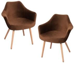 Pack 2 Cadeiras Dau Veludo