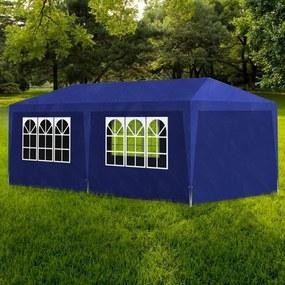 90337 vidaXL Tenda para festas 3x6 m azul