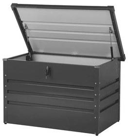 Caixa de arrumação em aço cinzento grafite 100 x 62 cm CEBROSA