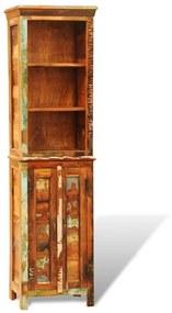 241433 vidaXL Estante vintage de madeira reciclada  maciça