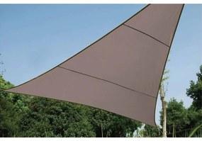 420408 Perel Toldo vela triângulo 3,6 m cinzento-acastanhado GSS3360TA
