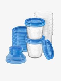 Recipientes de conservação para leite materno Philips AVENT transparente/azul