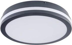Kanlux 33386 - Iluminação fixa BENO LED/24W/230V 3000K preta IP54