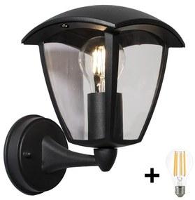 Brilagi - Iluminação de parede exterior LED LUNA 1xE27/60W/230V IP44