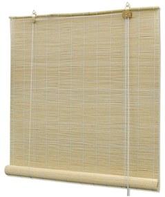 Cortinados VidaXL  Estore de bambu 120 x 160 cm