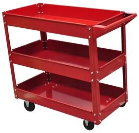 140156 vidaXL Carrinho para ferramentas de oficina