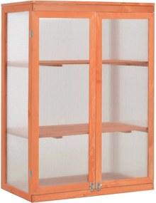 Estufa em madeira 75x47x109 cm