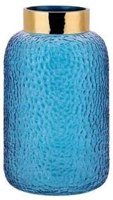 Vaso decorativo azul TORLA