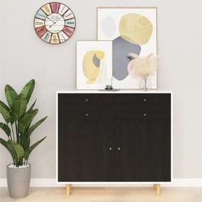 Autocolante para móveis 2 pcs 500x90 cm PVC cor madeira escura