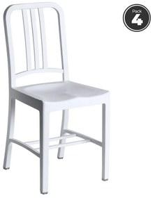 Pack 4 Cadeiras Lain Brancas