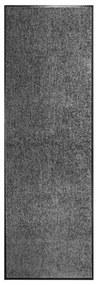 323417 vidaXL Tapete de porta lavável 60x180 cm antracite