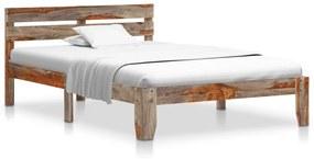 288410 vidaXL Estrutura de cama 120x200 cm madeira de sheesham maciça
