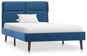 286865 vidaXL Estrutura de cama 90x200 cm tecido azul