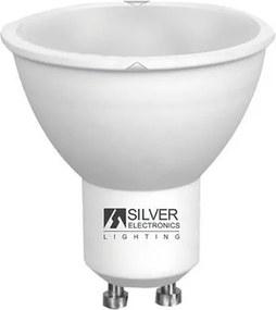 Lâmpada LED dicróica Silver Electronics ECO GU10 7W 3000K (Luz quente)