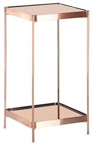 Mesa de apoio cor cobre 29 x 29 cm ALSEA