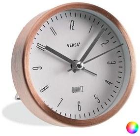 Relógio-Despertador Alumínio (3,9 x 9 x 9 cm)