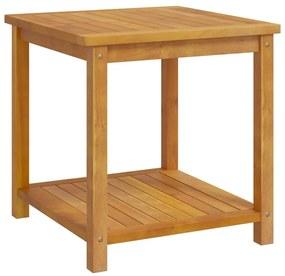 44128 vidaXL Mesa lateral em madeira de acácia maciça 45x45x45 cm
