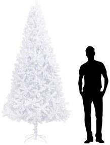 284292 vidaXL Árvore de natal artificial 300 cm branco
