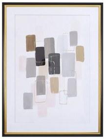 Quadro com moldura 60 x 80 cm multicolor AREZA