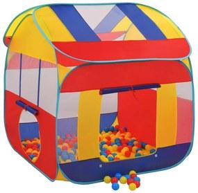 91796 vidaXL Tenda de brincar com 300 bolas XXL