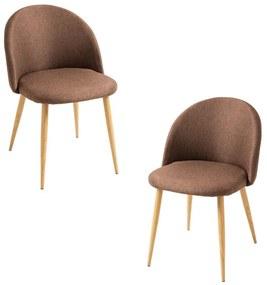 Pack 2 Cadeiras Vint Tecido