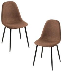 Pack 2 Cadeiras Teok Black Tecido