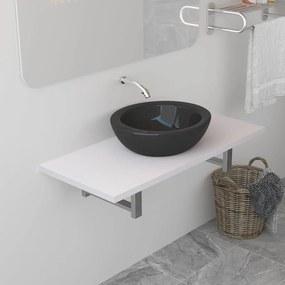 283816 vidaXL Móvel de casa de banho 90x40x16,3 cm branco