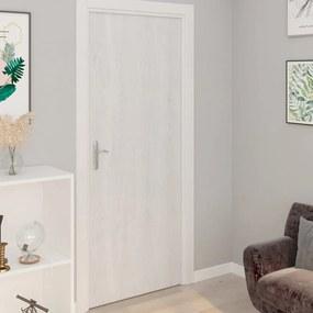 Autocolante para porta 2 pcs 210x90 cm PVC cor madeira branca