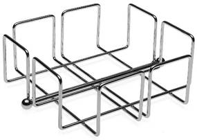 Porta-guardanapos Cromado Metal