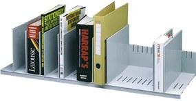 Organizador de Armário Paperflow Cinza com 10 Compartimentos Ajustaveis 802 X 275 X 210 mm