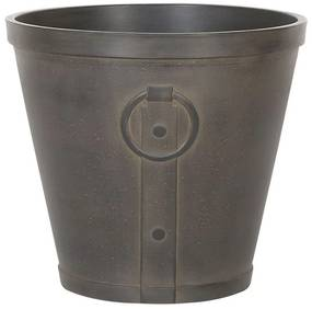 Vaso decorativo para plantas ⌀ 45 cm castanho VARI