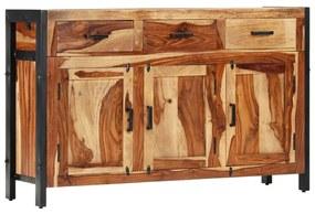 247447 vidaXL Aparador 120x35x75 cm madeira de sheesham maciça