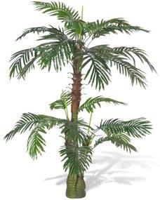 241355 vidaXL Planta artificial, palmeira Cycus, 150 cm