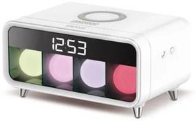 Relógio-Despertador Daewoo DCD-250 LED Branco