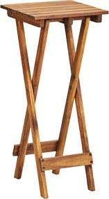 Suporte para plantas 30x30x67 cm madeira de acácia maciça