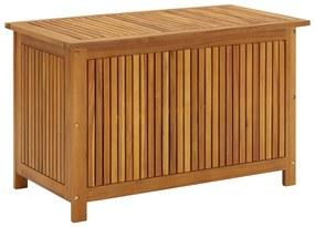 310282 vidaXL Caixa arrumação para jardim 90x50x58cm madeira acácia maciça