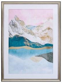 Quadro com moldura 60 x 80 cm abstracto multicolor ENEWARI