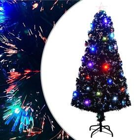 284301 vidaXL Árvore de Natal artificial com suporte/LED 150 cm 170 ramos