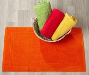 Tapetes de banho 100% algodão cor amarelo qualidade premium 1.000 gr./m2: Amarelo 1 tapete banho 100% algodão penteado 60x60 cm premium 1.000 gr./m2 mesma cor