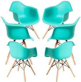 Pack 6 Cadeiras Dau